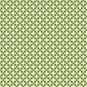 Saint Patrick Paper Shamrock Pattern