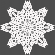 Winter Frost Snowflake