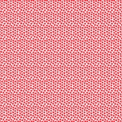Valentine Mini Red Doodle Hearts Patterned Paper 4