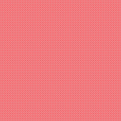 Valentine Mini Red Polka Dots Patterned Paper 5