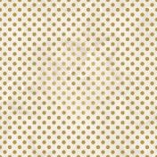Valentine Mini Gold Foil Polka Dot Textured Paper 7