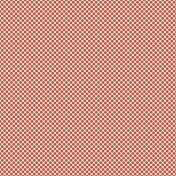 Delish Mini Kit Red Flower Polka Dot Patterned Paper