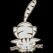 Retro Camper Kit Add-On: Chipboard Cat