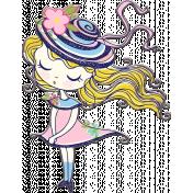 Sweet Girl Chipboard 01