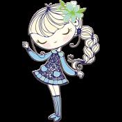 Sweet Girl Chipboard 02