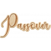 April Kit Add-On: Passover Word Art