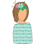 Who I am in Christ Add-On: Garland Lady