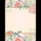 Spiritual Gifts Add-On:Pocket Journal Card 02