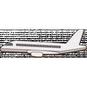 Around the World Chipboard Plane