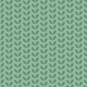 Green Vine Patterned Immunity Paper