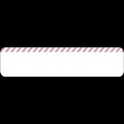 Pink Striped Tag