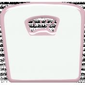 Pink Scale Sticker