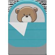 Kumbaya Mini Kit Bear in Sleeping Bag
