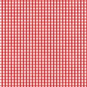 Kumbaya Mini Kit Red Picnic Patterned Paper