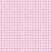 Bloom Watercolor Grid Paper