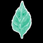 Bloom Leaf Sticker 1