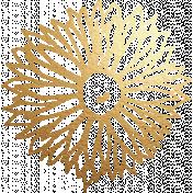Discernment Kit Add On: Gold Stamp Flower