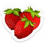 Sow & Reap Strawberries Sticker