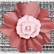 Love Never Fails Fabric Flower