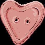 Knit Mini Kit: Heart Button