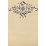 Leaf Angel vertical 4x6 journal card