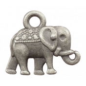 Circus Elephant Charm