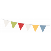 Circus Flags Banner