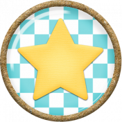 Circus Star Button