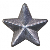 Super Hero Star Metal Button