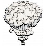 Super Hero Smoke Mushroom