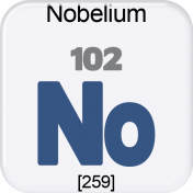 Genius Periodic Table 102 Nobelium