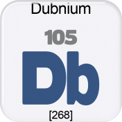 Genius Periodic Table 105 Dubnium