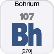 Genius Periodic Table 107 Bohrium