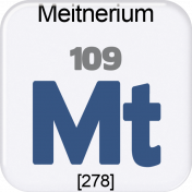 Genius Periodic Table 109 Meitnerium