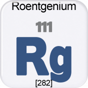 Genius Periodic Table 111 Roentgenium