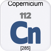 Genius Periodic Table 112 Copernicium