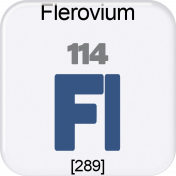 Genius Periodic Table 114 Flerovium