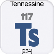 Genius Periodic Table 117 Tennessine