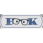 Genius Book Word Art