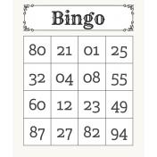 Gamer Girl Bingo Card