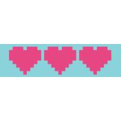 Gamer Girl Hearts Edge