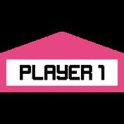 Gamer Girl Player 1