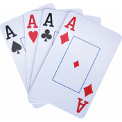 Gamer Girl Playing Card