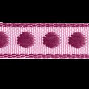 Gamer Girl Ribbon with Polka Dots
