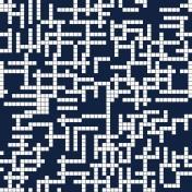 Gamer Girl Paper Black Crosswords
