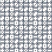 Gamer Girl Paper Dominoes