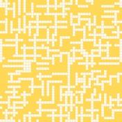 Gamer Girl Paper Yellow Crosswords