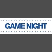 Gamer Girl Word Art Game Night