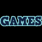 Gamer Girl Word Art Games