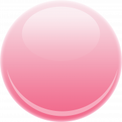 Glossy Pink Button
